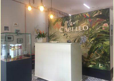 Sala de espera de Peluquería y Estética Mar Cabello en Motril (Granada)